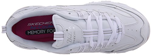 Skechers  D'LitesCentennial,  Sneaker donna White/Silver