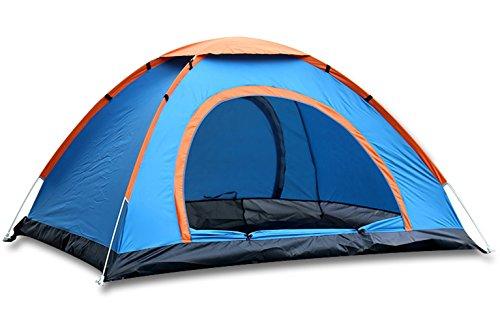 WETOO 1 to 2 Personen-Zelt Backpacking Kuppelzelt für Outdoor-Camping-Reise Wandern Einfache Einrichtung und wasserfest