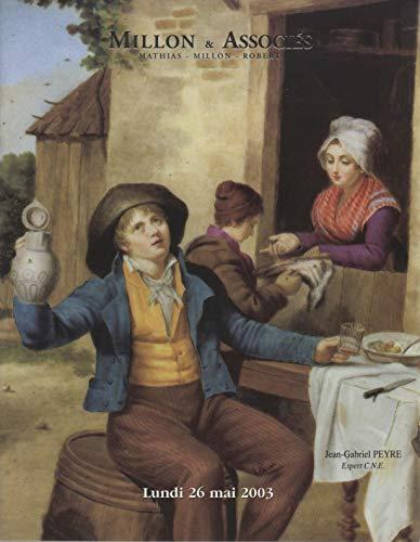 Porcelaines étrangères, Asie, Chine... porcelaines françaises... faïences étrangères... faïences françaises : Vente, Paris, Drouot-Richelieu, salle 4, 26 mai 2003 par Millon & associés
