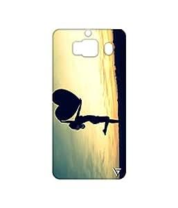 Vogueshell Vintage Love Printed Symmetry PRO Series Hard Back Case for Xiaomi Redmi 2 Prime