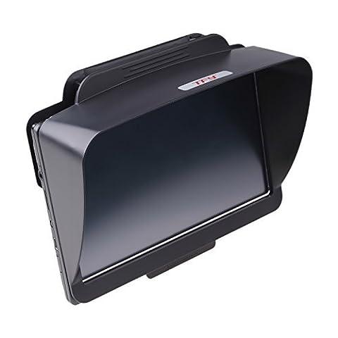 TFY Visière Antireflet pour Navigateur GPS de Voiture avec écran 7 pouces