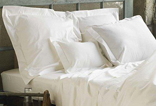 Leinen Galaxy T400weiß Ägyptische Baumwolle Satin Satin Bettlaken Spannbettlaken Hotel Qualität (Kissen separat erhältlich) alle Artikel sind separat erhältlich, Fitted Sheet, Einzelbett (Hotel Bath Sheet)