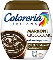 Coloreria Italiana Colorante per Tessuti,Marrone Cioccolato, 350g