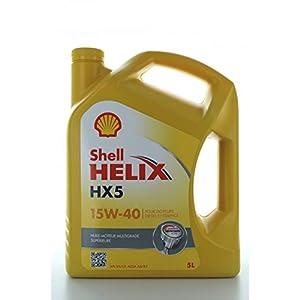 Shell helix hX5 15W 40–1 flacon l pas cher