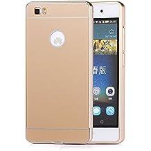 Tinxi Case Cover - Funda para Huawei P8 Lite, color dorado