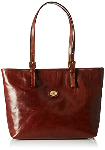 The Bridge Borsa Messenger 04903501-14 Marrone