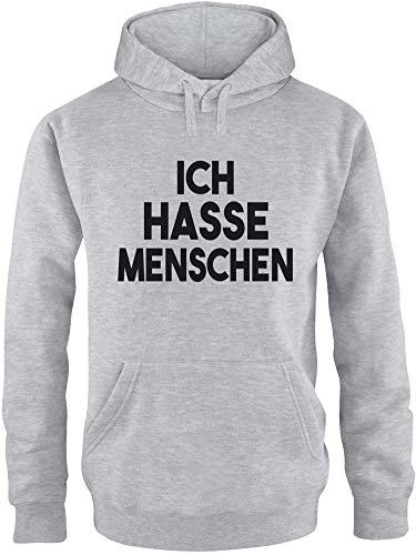 EZYshirt® Ich Hasse Menschen Pullover Herren   Männer Kapuzenpullover   Hoodie