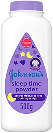 JOHNSON'S Baby Diapering Powder - Sleep Time, 500g