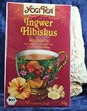 YOGI TEA Ingwer-Hibiskus-Tee im Beutel (17 Beutel) - Bio