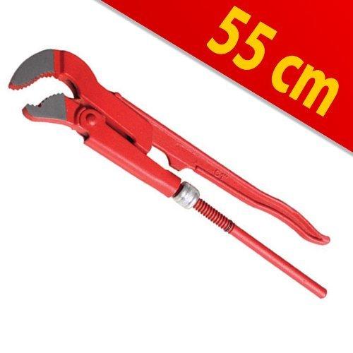 Preisvergleich Produktbild Eckrohrzange Rohrzange S-Maul 2' 55cm CV