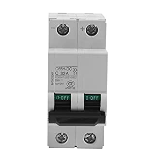 250V DC 2P Low-voltage Miniature Air Circuit Breaker Solar Energy Switch 16A/32A/63A (32A)