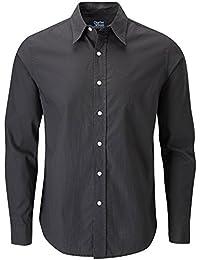 Charles Wilson Long Sleeve Plain Poplin Shirt