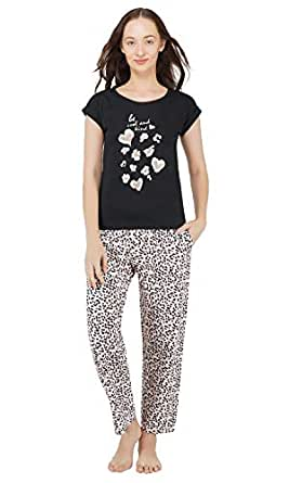 Artemis Women's Cotton Printed Pajama Set