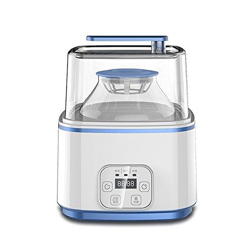 GWDJ Joghurt Maker Intelligente Enzym-Maschine Multifunktions-Joghurt-Maschine Hause automatische Fruchtenzym große Kapazität flüssige Maschine 2L Joghurtmaschine (Farbe : Blue)