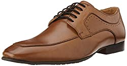 Alberto Torresi Mens Tan Leather Formal Shoes - 6 UK/India (40 EU)