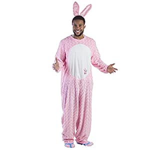 Dress Up America 805 S/M - Energizer Bunny de disfraces para adultos, color rosa