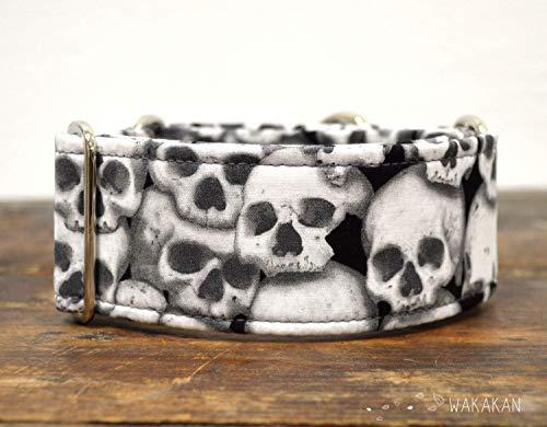 Collare-per-cani-martingale-Catacombs-fatto-a-mano-in-Spagna-da-Wakakn