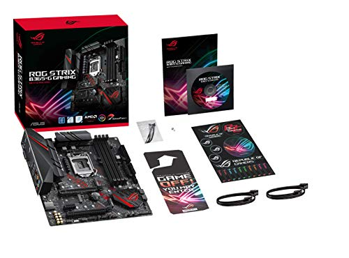 Asus B365F Strix Gaming – 9th Generation LGA1151 Motherboard – DDR4, M.2, Crossfire – 2019 Model