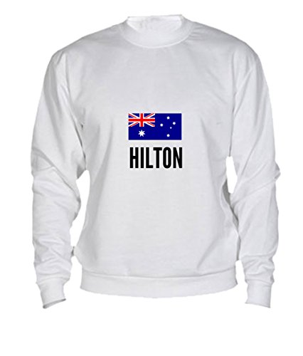 Felpa Hilton city White