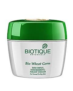 Biotique Bio Wheat Germ Youthful Nourishing Night Cream 175 g