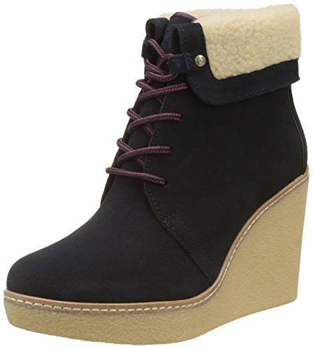 Tommy Hilfiger Damen B12385RANDY 1BW Desert Boots, Blau (Midnight), 41 EU