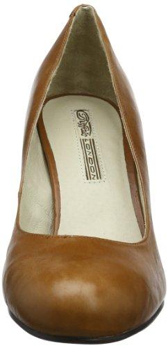 Buffalo 107-2984, Escarpins femmes Marron (Cow Letaher Tan)