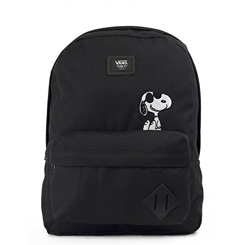 Imagen de vans old skool ii backpack  tipo casual, 42 cm, 22 liters, negro peanuts