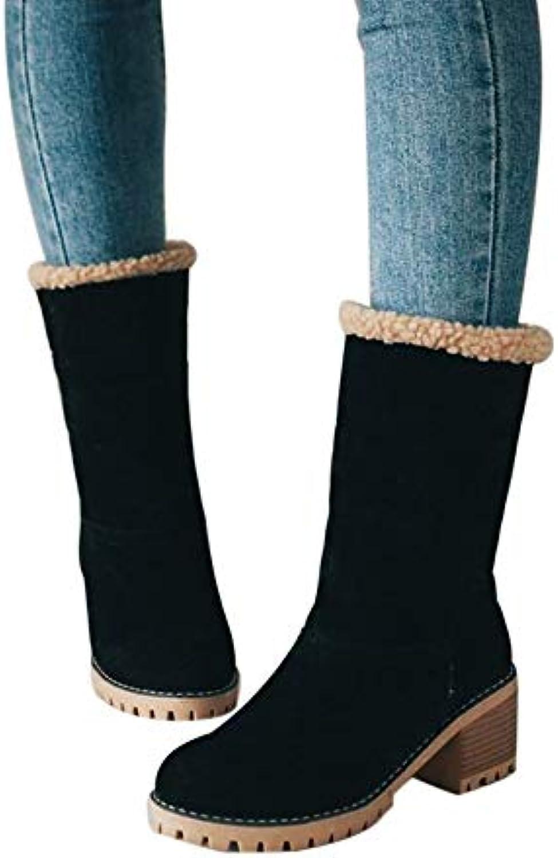 Ymysfit À Chaussures Courtes Talon Femme Bottes r4OrX