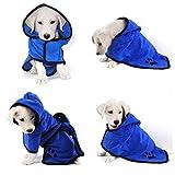 EEM Lujosa Almohada Suave para Mascotas Toalla, 100% Manta para duchas de Microfibra Toalla para baño Toalla Seca para Mascotas, Toalla Absorbente de Agua para Perros y Gatos