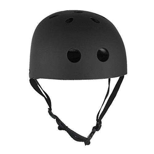 generic bike cycling scooter ski skate skateboard protector helmet - frosted black l Generic Bike Cycling Scooter Ski Skate Skateboard Protector Helmet – Frosted Black L 41Mwba 2B6EWL