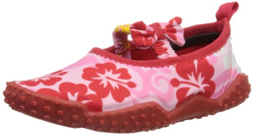 Playshoes Aquaschuhe, Badeschuhe Hawaii, UV-Schutz nach Standard 801 174769, Mädchen Dusch- & Badeschuhe, Pink (original 900), EU 34/35