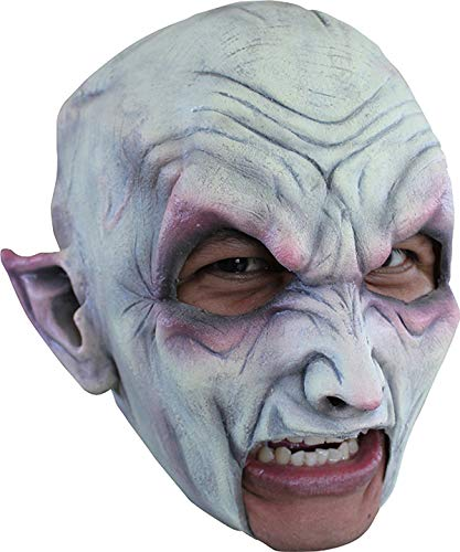 Vampire Chinless Head Mask With Chinstrap Latex Horror Halloween by CC