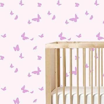 Pochoir Motif Papillon Mur Maison Décoration Murale Peinture Art