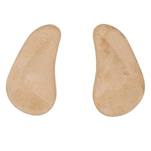 SODIAL(R) 1 paire Semelles Orthopediques Soutien de la Voute en Gel de Silicone Garniture de Coussin Unisexe pour Enfant