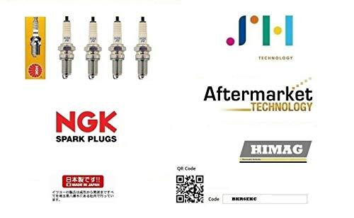 4 Candele NGK BKR6EKC Multipla 1.6 1.6 16v Natural Polwer Bipower Blupow