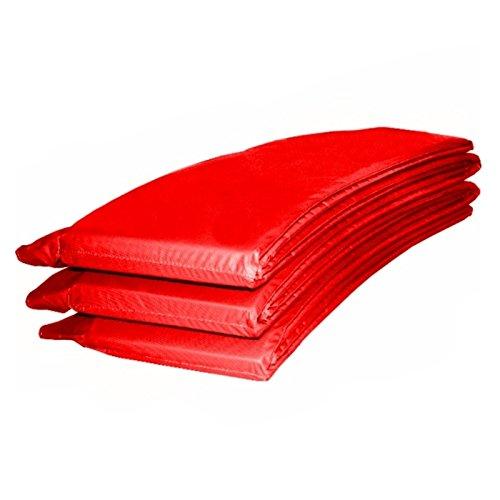 Baunsal GmbH & Co.KG Randabdeckung Federabdeckung Randschutz Abdeckung rot für Trampolin 366 bis 370 cm