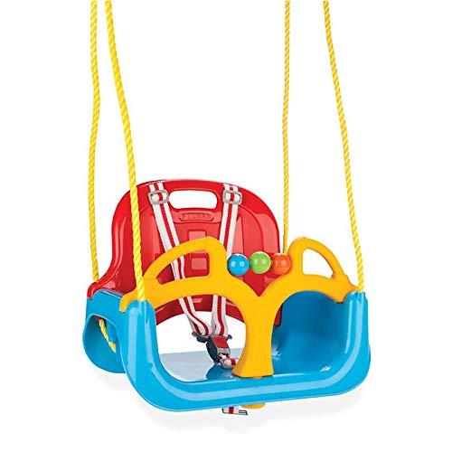Pilsan Babyschaukel 3 in 1 Samba Swing 06129 mit abnehmbarem Bügel, Rückenlehne , Farbe:blau