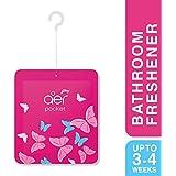 Godrej aer pocket, Bathroom Air Fragrance - Petal Crush Pink (10g)