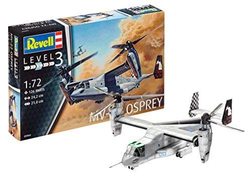 Revell - 03964 - Bell Mv-22 Osprey - 126 Pièces - Echelle 1/72