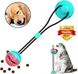 Sunshine smile hundespielzeug mit saugnapf,pet Toy mit saugnapf,pet Molar chew Spielzeug,Multifunktion Pet Molar Biss Spielzeug,Dog Interactive Molar kauspielzeug,pet Molar bite Toy(Bunt)