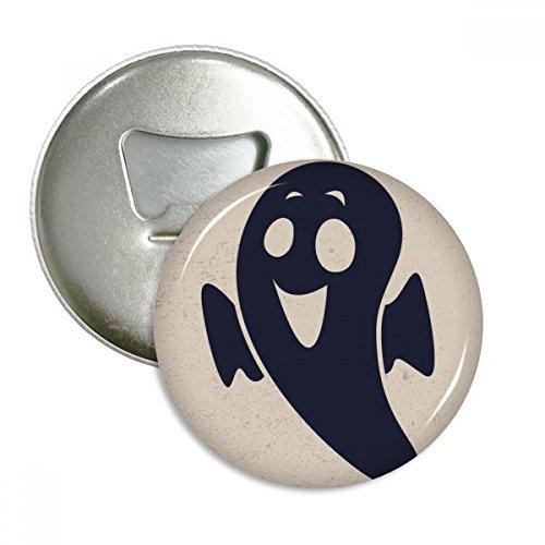 (DIYthinker Halloween Emaciated Kleiner Teufel Runder Flaschenöffner Kühlschrank Magnet Pins Abzeichen-Knopf-Geschenk 3pcs Silber)