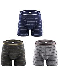 Boxer Briefs Slips pour Hommes sous-vêtements pour Hommes sous-vêtements  Sexy pour Hommes Boxer Shorts Extrêmement Doux en… ad7d271a42a