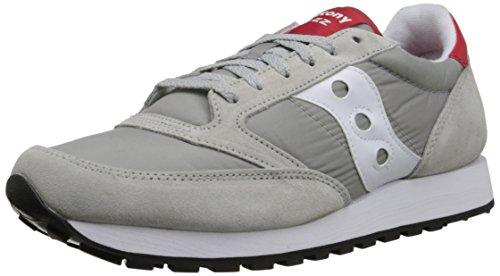Saucony scarpe sneaker uomo jazz original s2044-323 grigio - bianco - rosso n. 43 eu