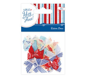 Scrapbooking Ribbon Bow (Papermania Ribbon Bows Ahoy There 20 St.)