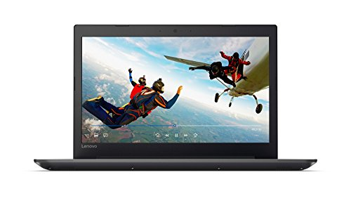 Lenovo IdeaPad 320 39,6 cm (15,6 Zoll HD TN matt) Notebook (Intel Pentium 4415U, 8GB RAM, 128GB SSD, DVD, Intel UHD Grafik 610, Windows 10 Home) schwarz