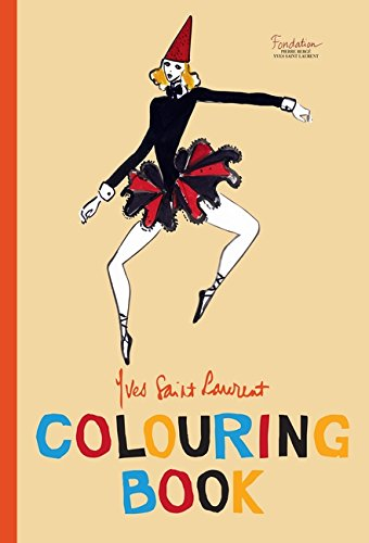 Yves Saint Laurent Colouring Book