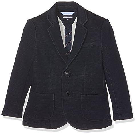 Tommy Hilfiger Jungen Sakko Knitted, Blau (Navy Blazer 431), 152