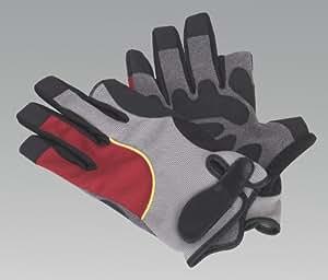 SEALEY ssp803l Mechaniker-tipless Handschuhe–Groß