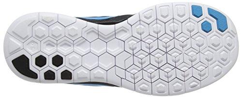 Nike  Free 5.0, Chaussures de Running Compétition homme Noir (Black/Blue)