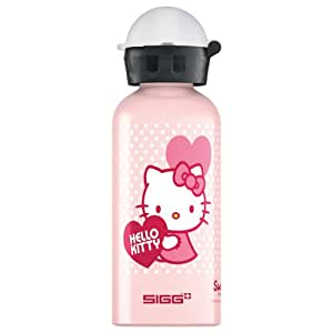 sigg kids hello kitty valentine drinking bottle pink 0 4 litres sports outdoors. Black Bedroom Furniture Sets. Home Design Ideas